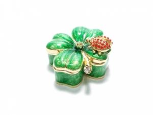 Porta-jóias Trevo da Sorte